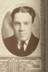 Yearbook Photo of Harold Peoples
